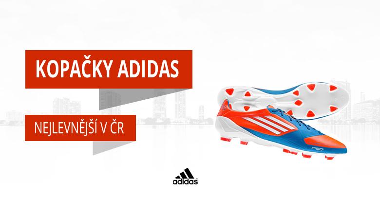 Levné až nejlevnější kopačky Adidas v eshopu kopacky-zlin
